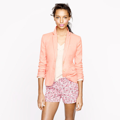 blazers how to wear covet her closet promo code free shipping j. crew h&m trends 2013
