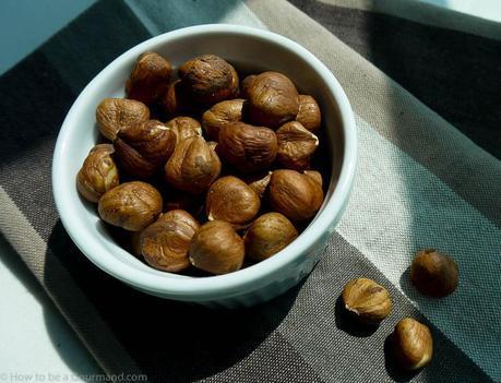 Dark Chocolate and Hazelnut Biscotti