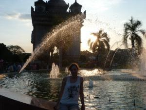 Me at Patuxai