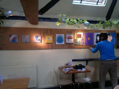 Hang Outs... RadDad Art in Nottingham, UK