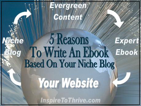 5 Reasons To Write An Ebook Based On Your Niche Blog