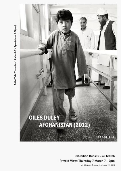 Giles Duley - Afghanistan(2012) Exhibition at KK Outlet