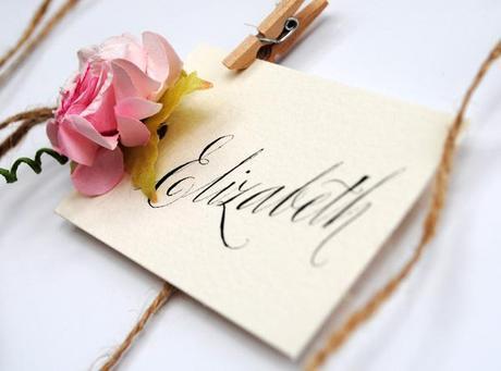 calligraphy wedding place name