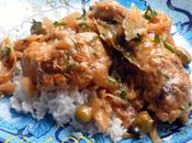 Poulet Yassa from Senegal Chicken, Onions Olives Classic Sauce