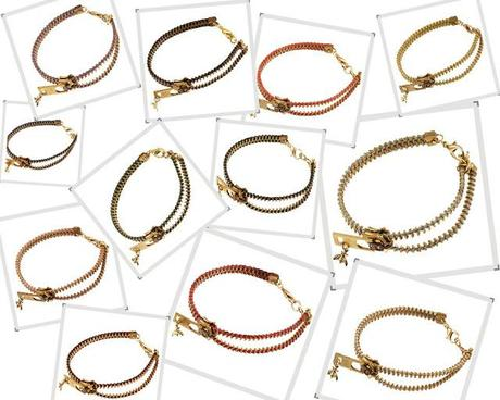 Arm Candy | Bee Charming Zipper Bracelets