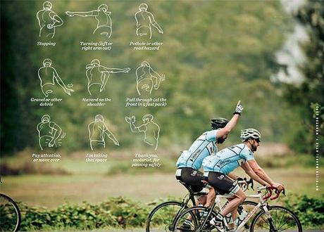Bicycle Hand Sign We Must Learn
