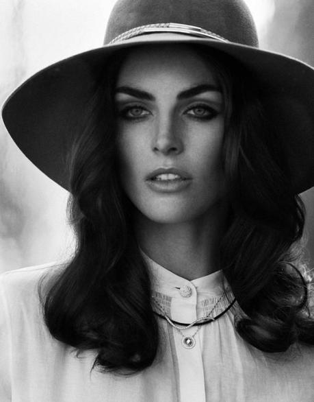 Hilary Rhoda for DuJour Spring 2013 by Thomas Whiteside