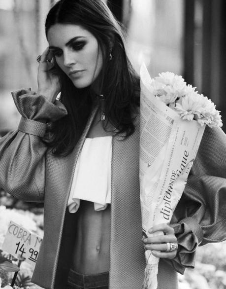 Hilary Rhoda for DuJour Spring 2013 by Thomas Whiteside  2