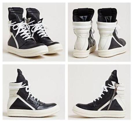 rick owens women s geobasket sneakers for spring summer paperblog. Black Bedroom Furniture Sets. Home Design Ideas