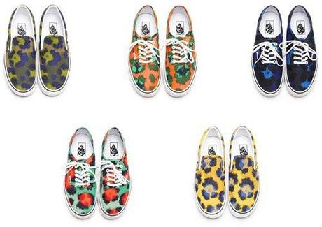 Vans Authentic x Kenzo for Spring 2013 The collection will be...