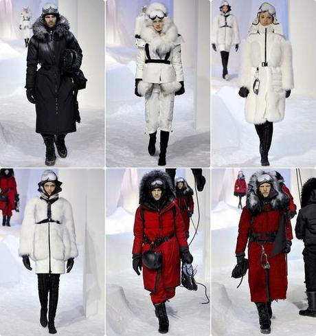 Moncler Gamme Rouge Fall 2013 Collection | Paris Fashion Week