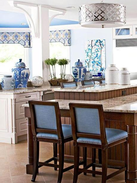 decor blue and white kitchen Design Quote of the Week HomeSpirations