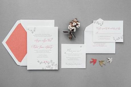 Post image for Wedding Invitations with Belluccia by the Aerialist Press