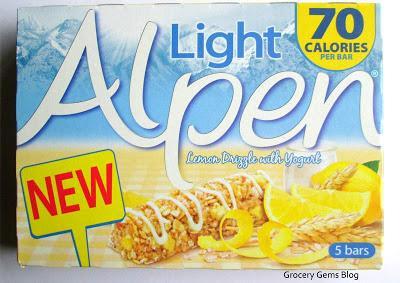 Alpen Light Lemon Drizzle with Yogurt Cereal Bars