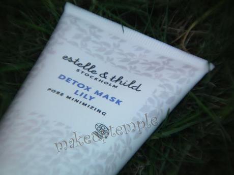 Estelle and Thild Lily Detox Mask