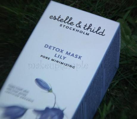 Estelle and Thild Lily Detox Mask