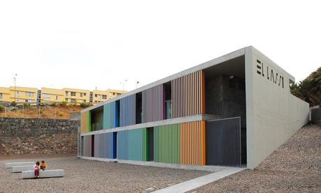 El lasso community center by Romera and Ruiz architects