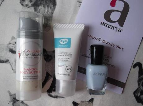 Amarya Beauty Box | March 2013