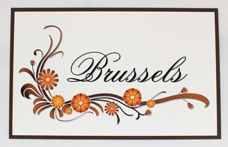 Artemis Stationery - Sienna Double Sided Table Name