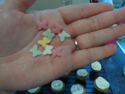 Rainbow Fairy Cakes