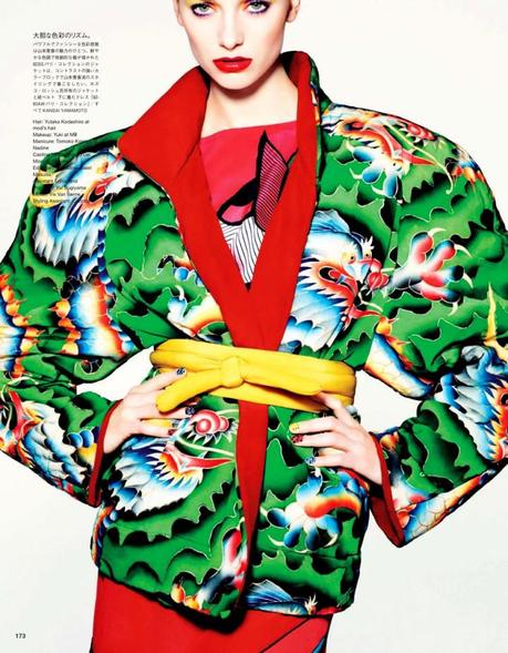 Iris van Berne by Matt Irwin for Vogue Japan April 2013 4