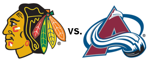 The Chicago Blackhawks look to extend their points streak to 25 with a win at Colorado.