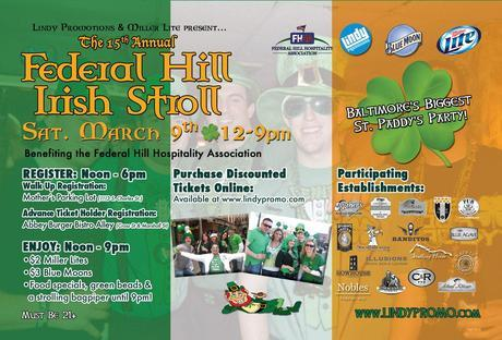 Who's Coming To The Federal Hill Irish Stroll With Me This Weekend?