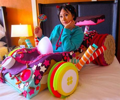Real-Life Vanellope's Kart from 'Wreck-it Ralph' - Paperblog