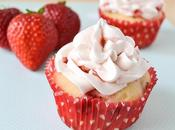 Fresh Strawberry Dream Cupcakes with Buttercream