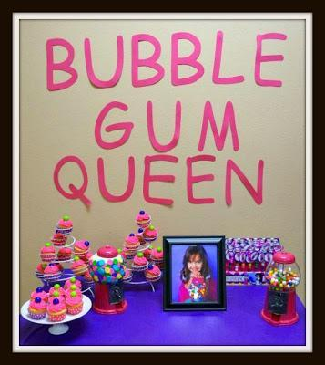 Bubble Gum Cake and Party