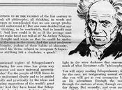Peddling Schopenhauer