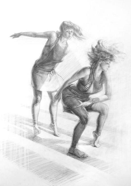 Dancer studies c Scott Breton
