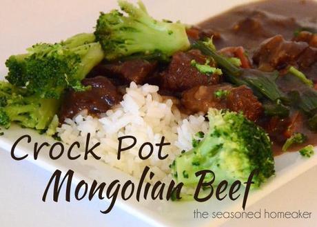 Crock Pot Mongilian Beef