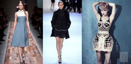 Katya Riabinkina at Valentino, Akris and for Vogue Italia © Yannis Vlamos © Filipo Fior © Craig McDean