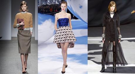 Ashleigh Good at Francesco Scognamiglio, Dior and Chanel fall-winter 2013 © Gianni Pucci, Monica Feudi, Yannnis Vlamos