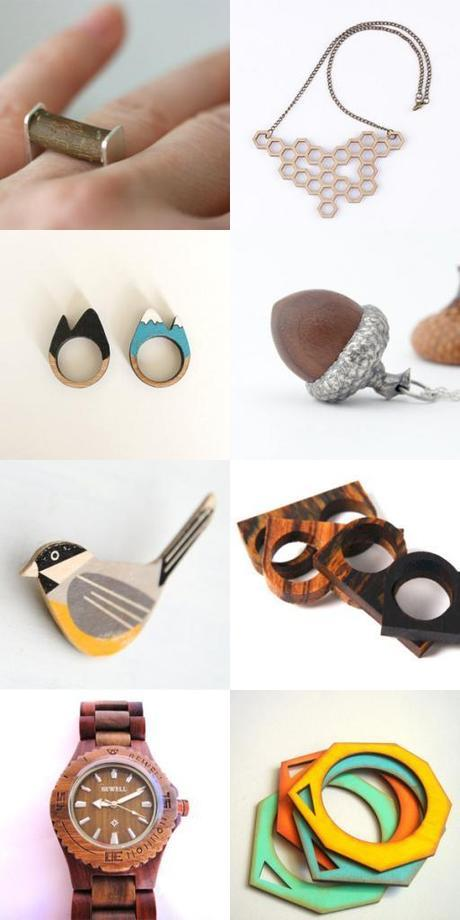Jolly Jewellery: WOOD