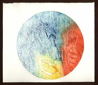 Wood Circle - from Relief to Intaglio