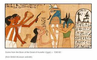 The Opening of the mouth from the Book of the Dead