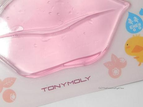 Review: Tony Moly Kiss kiss Lovely Lip patch