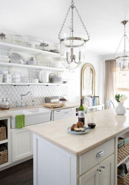 A Bright White Beautiful Kitchen Paperblog
