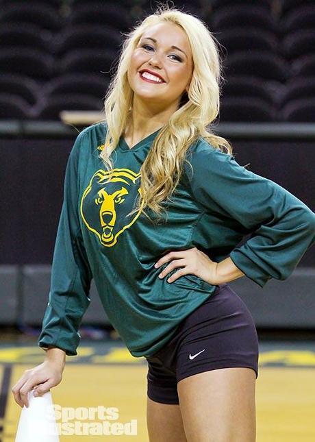 New Si Cheerleader Of The Week Baylor S Megan Paperblog