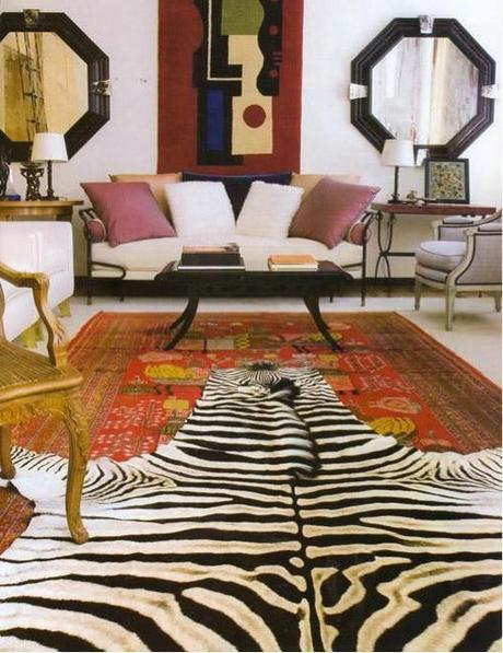 decor layered rugs2 Trending in Home Decor: Layered Rugs HomeSpirations