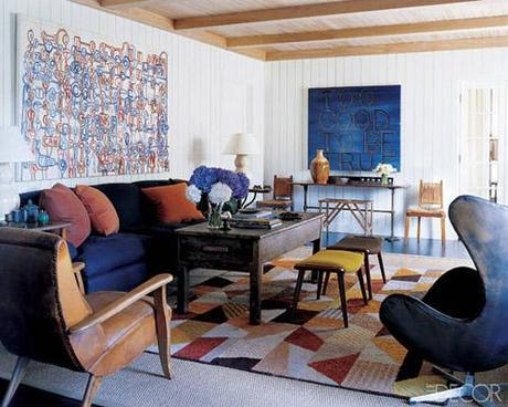 decor layered rugs7 Trending in Home Decor: Layered Rugs HomeSpirations