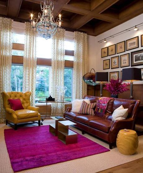 decor layered rugs1 Trending in Home Decor: Layered Rugs HomeSpirations