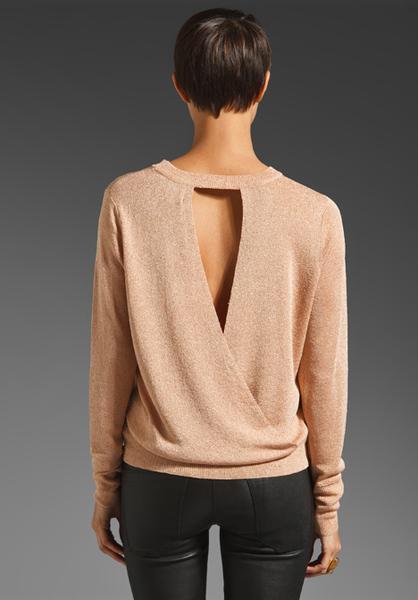 Open Back Sweaters