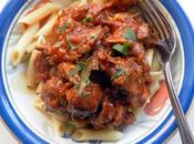 Weekend Dinner Special Sicilian Style Pork Sausage Ragu Over Pasta