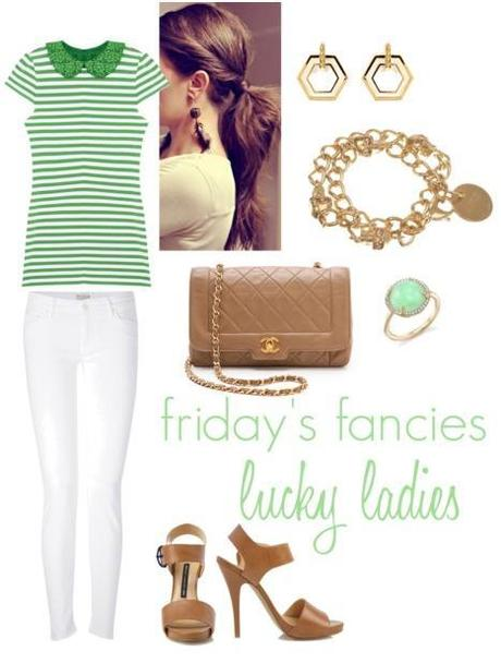 friday's fancies: lucky ladies.