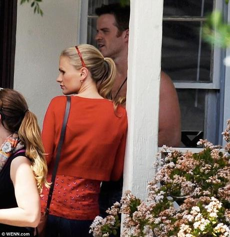 Anna Paquin and Rob Kazinsky True Blood season 6 set WENN 3