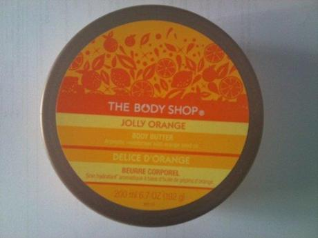 The Body Shop Jolly Orange Body Butter review