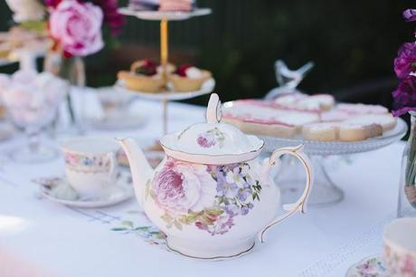 A Garden High Tea Party for a Baby Shower by Captured with Love Photography